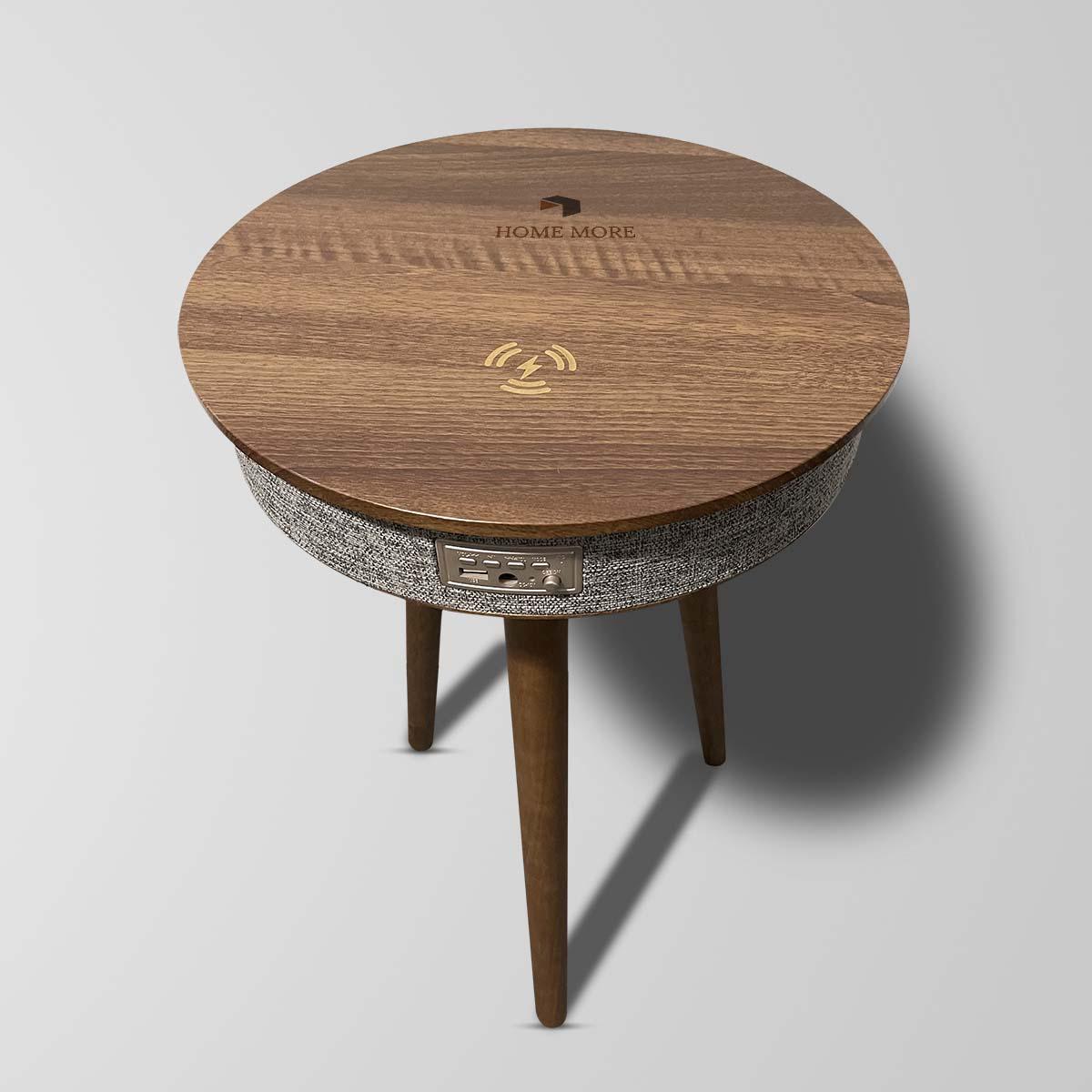 Smart modern design nordic style luxury bedroom living room home furniture bluetooth speaker designer coffee table
