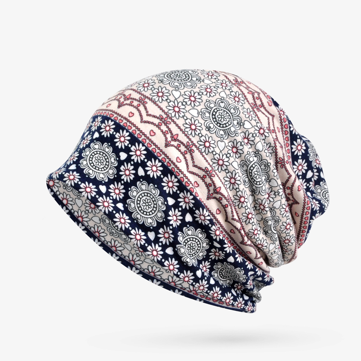 All Match Stylish Cotton Hat Cap Women Printed Custom Hats