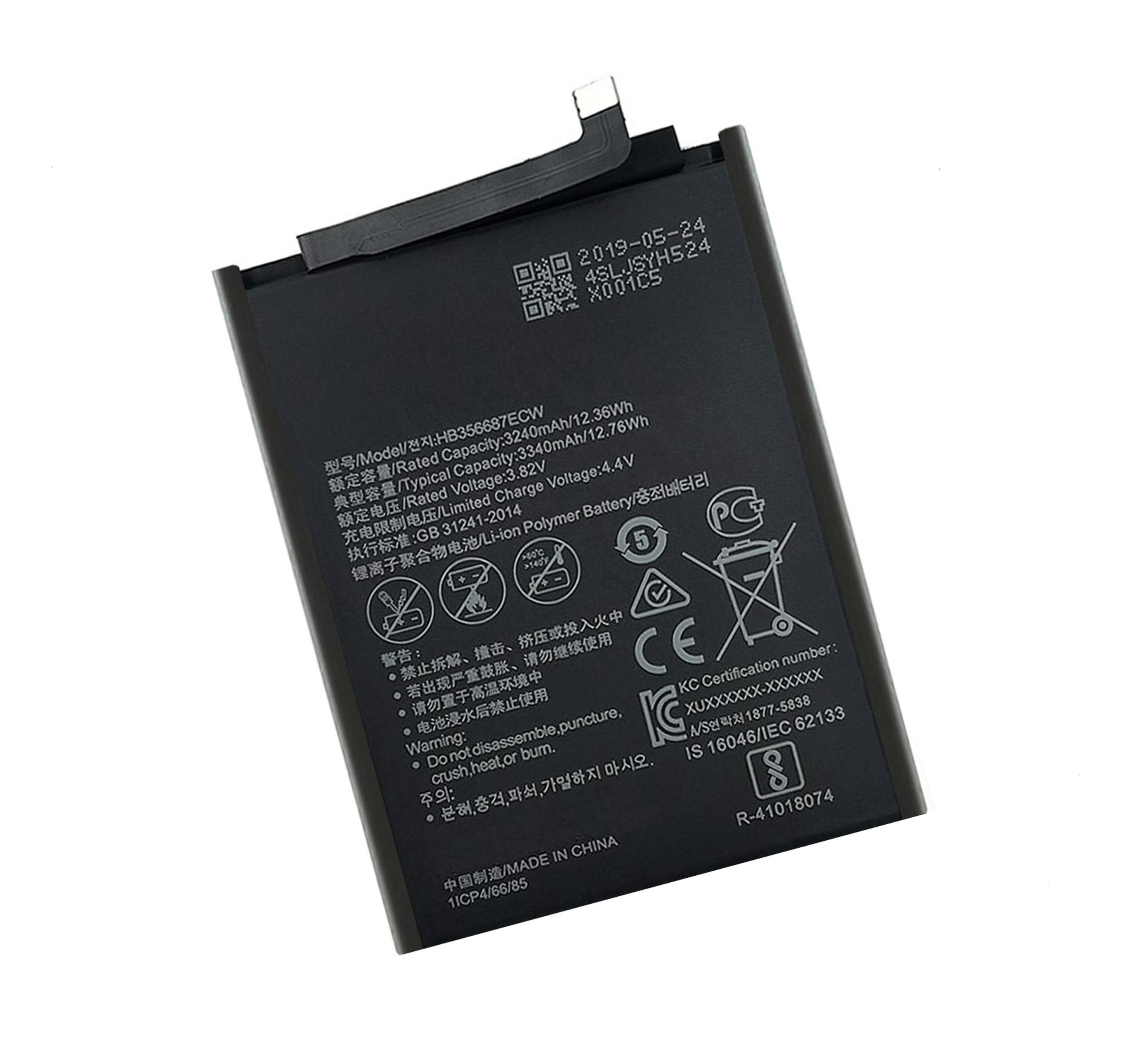 Батарея для мобильного телефона dcteno HB356687ECW 3340 мАч G10 Mate 10 Lite 7X Nova 2 Plus Nova 2i 9i New Zero Cyc