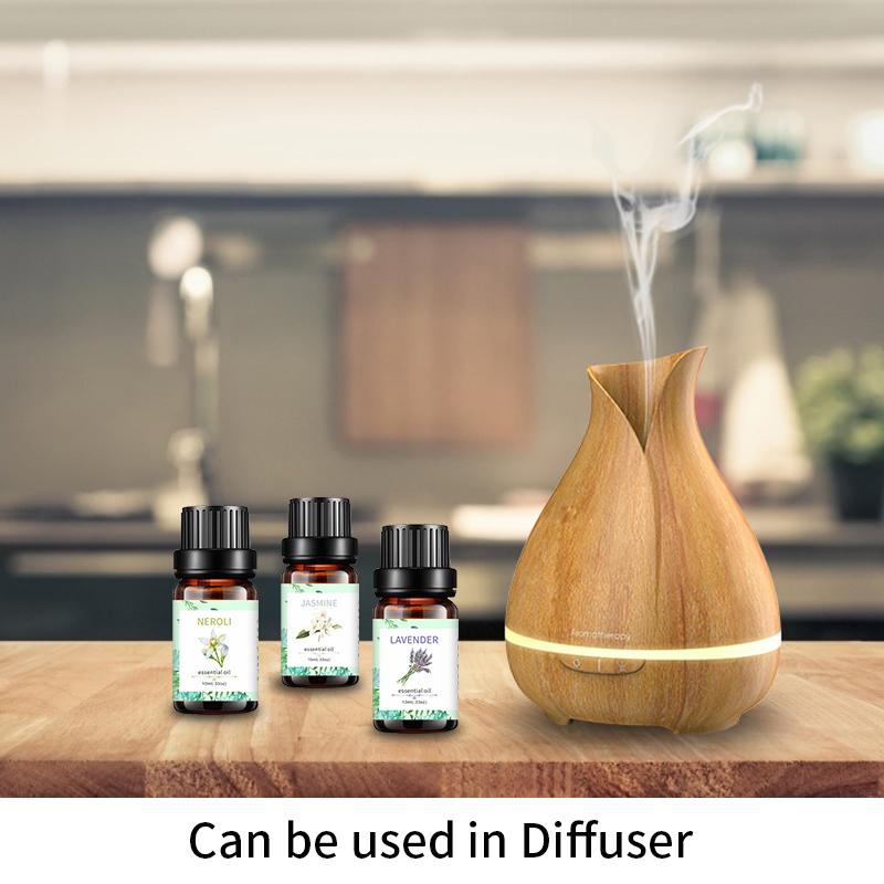 Новый дизайн, ароматическое масло для ароматерапии, парфюмерные масла, чистый цветочный парфюмерный масляный набор