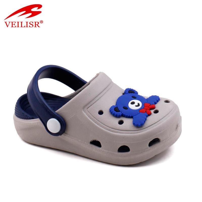 Летние детские сандалии для улицы, детские сабо из ЭВА