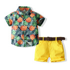 2021 choushan ODM ropa para ninos high quality Hot sale summer beach new designer garments friendly boys wholesale kid clothes