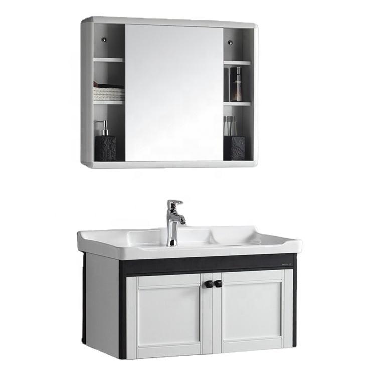 Mirror Cabinet Single Vessel Sink Vanity Combo 32 Inch Wall Bathroom Vanities Buy Wall Mounted Bathroom Cabinet Bathroom Cupboards Contemporary Bath Vanity Product On Alibaba Com