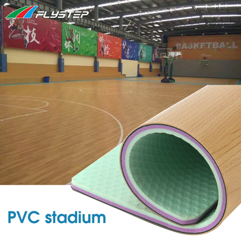 China factory PVC surface landscape for sport flooring