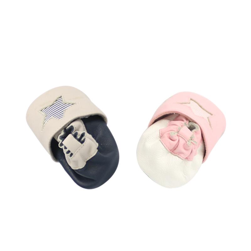 Новейший дизайн 2021, кожаная обувь со звездами, верхняя подошва 100%, Экологически чистая обувь для детского комфорта, мягкая