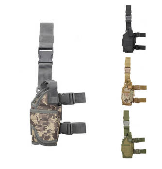 V-099 Wholesale adjustable hunting tactical glock drop leg gun holster dropleg holster