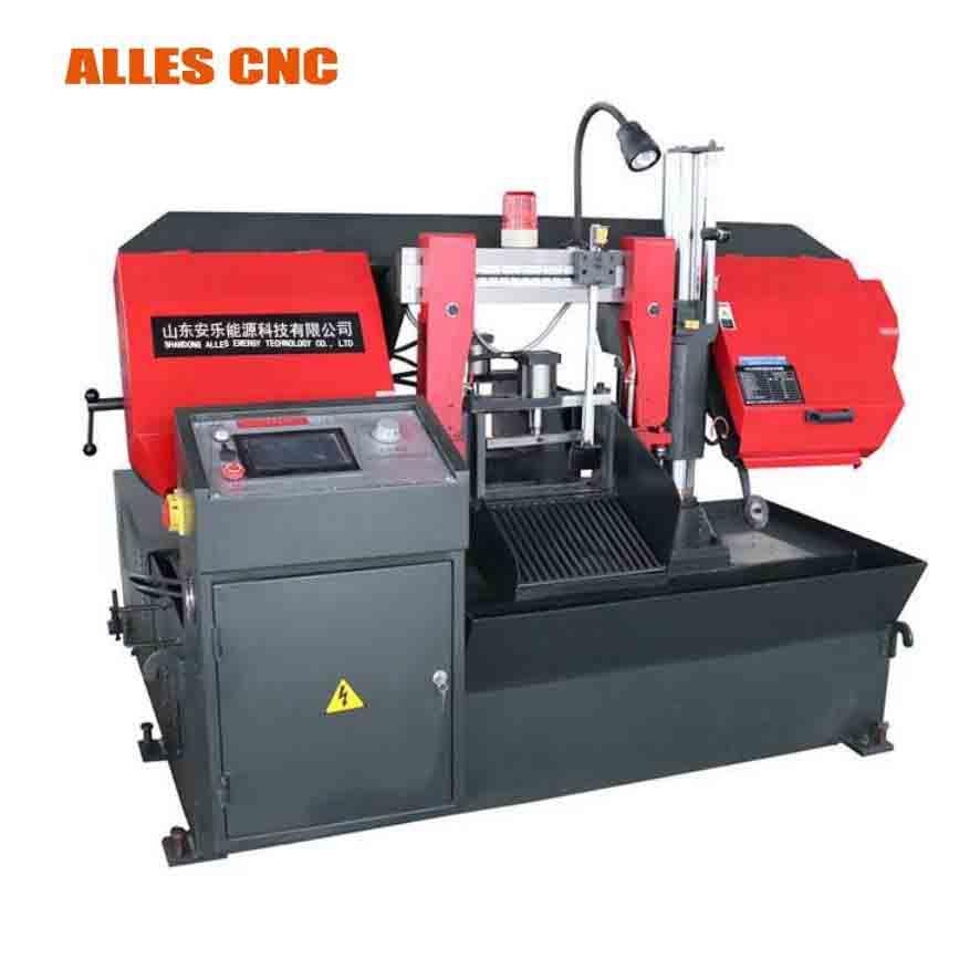 CNC automatic h beam metal cutting band saw machine cnc metal cutting machine portable aluminium