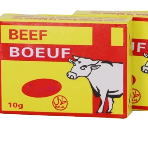 Beef flavor seasoning cube bouillon for west African mixed spices
