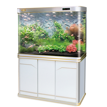 Professional customized Aluminum alloy ecological with ultra white glass aquarium fish tank