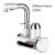 220V Electric Instant Heating Faucet Tap Water Hot Cold Tap With LED Display