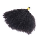 Extensions I Tip Extensions Bulk Wholesale Afro Kinky Curly 100% Human Virgin Brazilian Hair 4B 4C Kinky Curly I Tip Hair Extensions