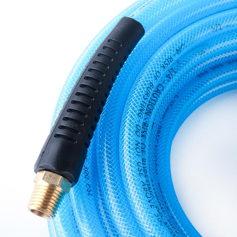 Полиуретановый плетеный шланг высокого давления, 1/4 дюйма, 50 футов, используется для пневматических инструментов