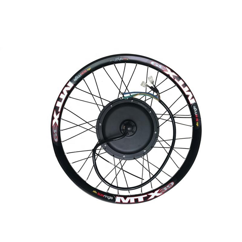 Набор колес для электродвигателя, 24/26/72 в, 3000 Вт, 75-85 км/ч
