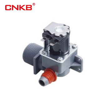 CNKB 3/4'' Plastic Washing Machine Water Inlet Valve Feed Valve Washer Solenoid Valve for Samsung, Midea, Whirlpool
