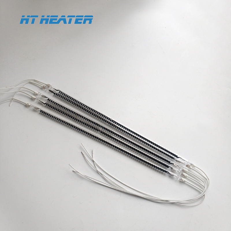 HT-IR ROHS certificate gas radiant heating element ir quartz heater lamps