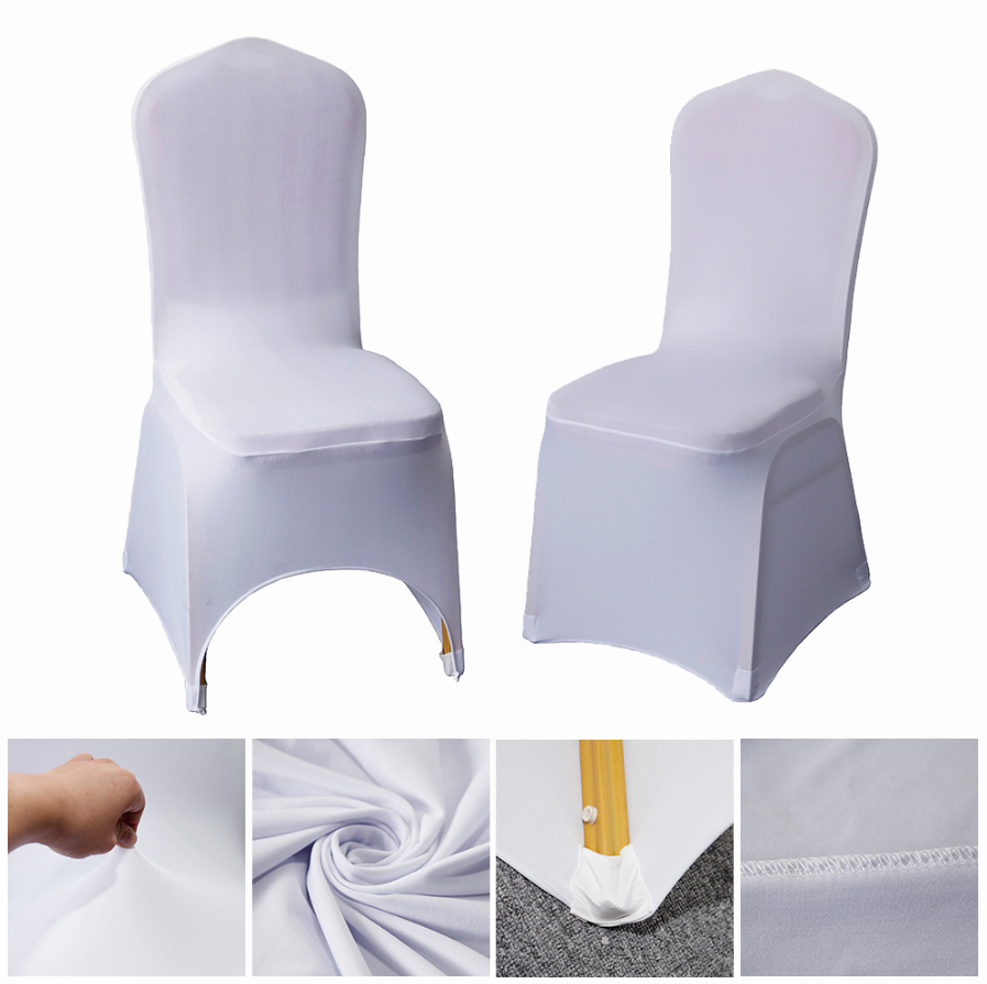Housse De Couvre Chaise Mariage Blanche Bistro Chair Covers Clothes For  Chairs Living Room - Buy Bistro Chair Covers,Housse De Chaise  Mariage,Clothes