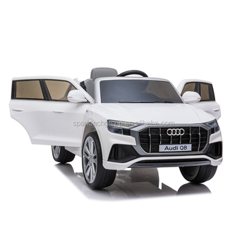 2020 Newest Cheap Ride on Toys Licensed Audi Q8 Car kids 2 seater electric cars kid plastic import directly from china
