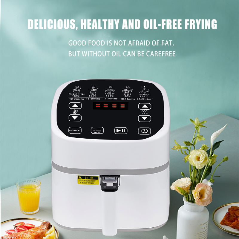 Buy Amazon's best selling 4.5L smokeless air Fryer compact electric oven for a healthy home