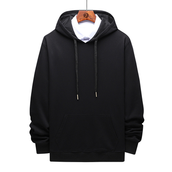 Hoodies Pullover Men Plain Sweatshirt Print Cotton Oem Customized Logo Casual Style