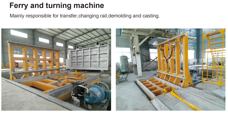 Light-weight Wall Panel Production Line Making Plant Wall Panel Machine
