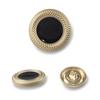 8934#Mat gold&Black  25mm
