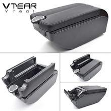 Vtear для LADA XRAY аксессуары автомобильный подлокотник кожаный подлокотник вращающийся короб центральная консоль авто-Стайлинг украшение авто...(Китай)