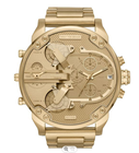 Watch DZ7371/DZ7396/DZ7399/DZ7414Mr Daddy 2.0 All Gold Multiple Time Zone Chronograph Men's Watch With Boxes