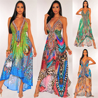 Clothes YD330254 Brand New Women Clothes Summer 2021 Off Shoulder Long Dresses Ladies Dress With High Quality
