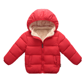 Wish Ebay Wholesale Spring Winter Baby Boy Fleece Warm Thicken Children hooded coat