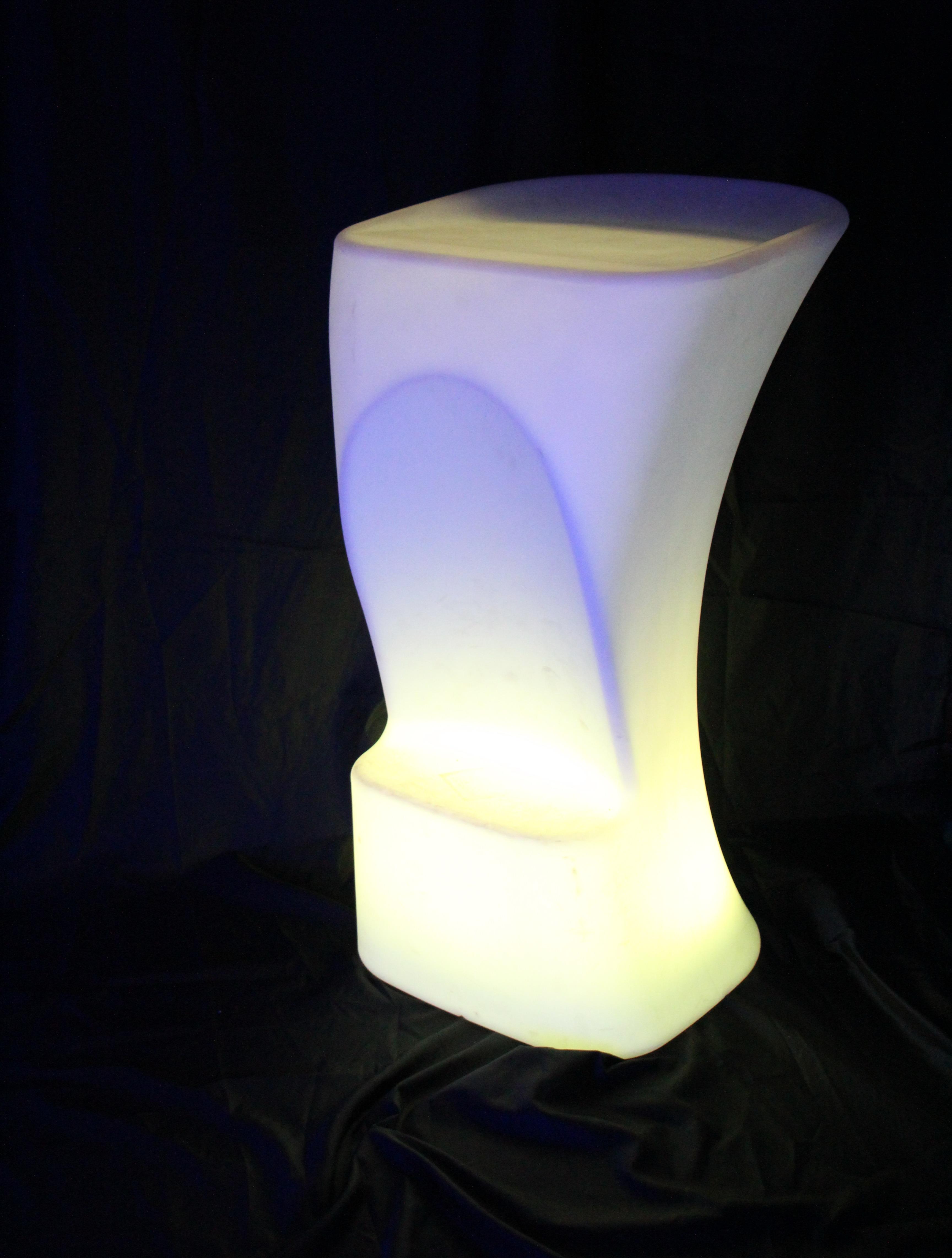 Decorative waterproof led bar stools/KTV party stools/Light Up led Bar Stool