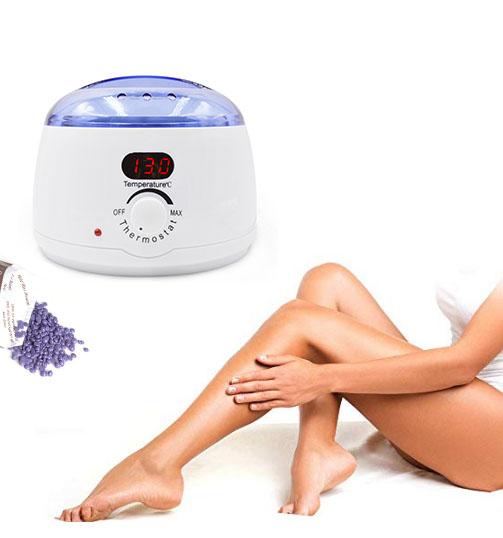 OEM Hair Removal Machine Beauty Salon Equipment Professional Mini Epilator 500CC Depilatory Heater LCD Digital Wax Warmer