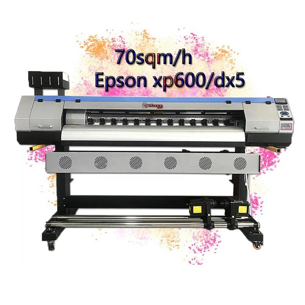Signkanon Hot selling digital flex banner printing 1.6m dx5 eco solvent printer