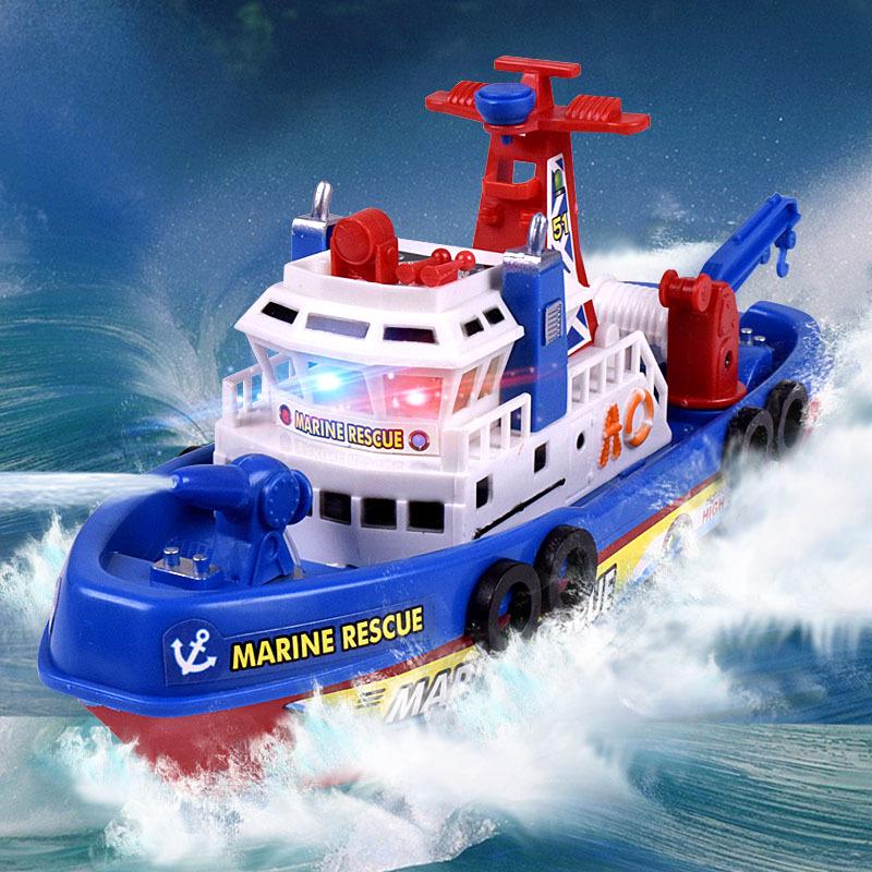 Оптовая продажа, новинка 2020, маленькие пластиковые игрушечные машинки для детей, недорого, литые игрушки, лодка, электронная модель