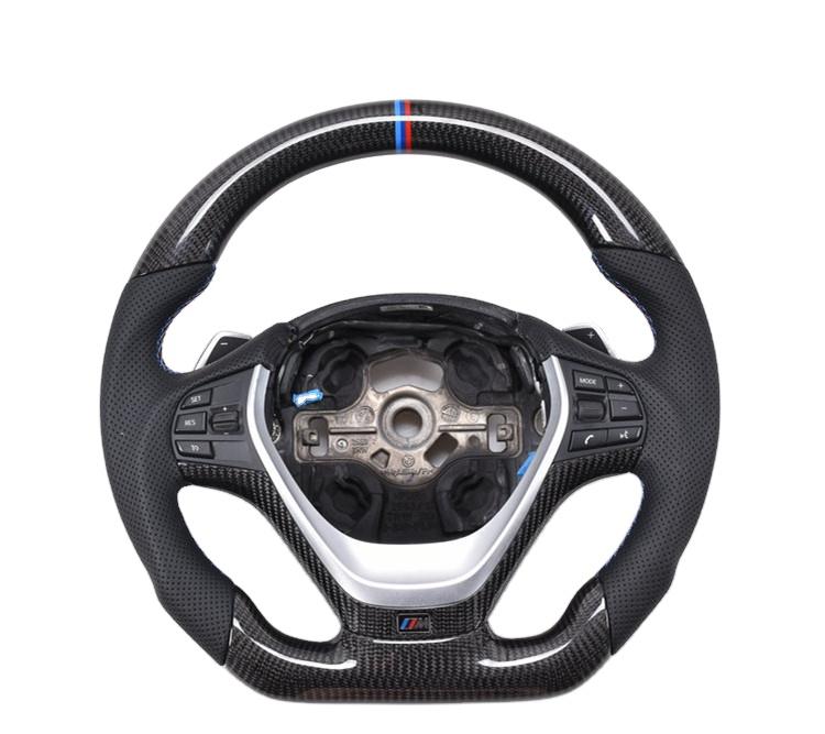 For BMW Carbon Fiber Steering Wheel For BMW E90 E92 E93 E46 E60 E82 F10 F30