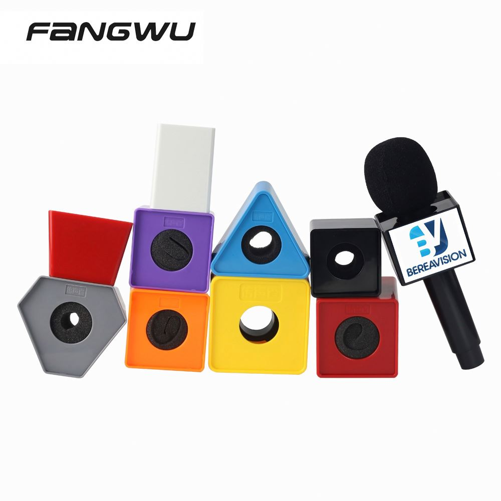 Good Quality Vintage Microphone Custom Flags Nyc Video Mic Flag For Sale