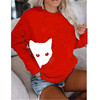 Red White Cat