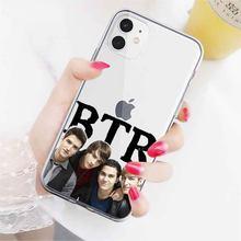 Btr Boyfriend big time rush ТПУ чехол для телефона iphone 11 pro max 7 8 6s 6s plus X Xs Xr MAX 5S 5 Se 2020 мягкий чехол coque silico(Китай)