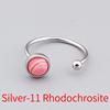Silver-11 Rhodochrosite