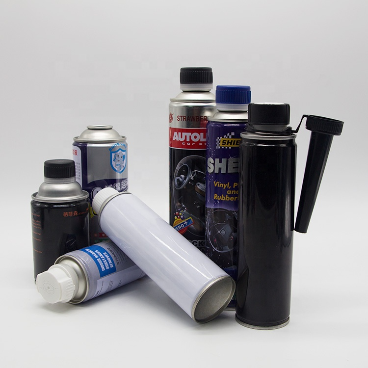300ml Straight body spray paint aerosol tin can