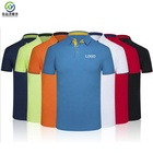 Shirts Custom Design Your Own Brand Polo ShirtShort Sleeve Men's Polyester Dry Fit Man Golf Polo T-shirt Shirts