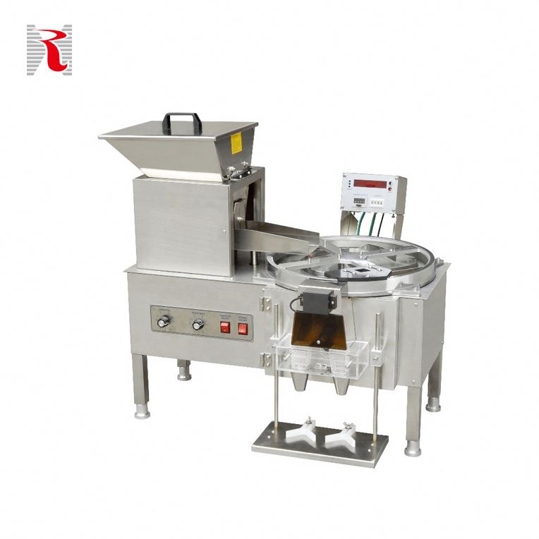 Electronic Products Machinery Size Capsule Counting And Bottle Filling Machine Semi Automatic
