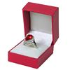 สีแดงกล่องแหวน