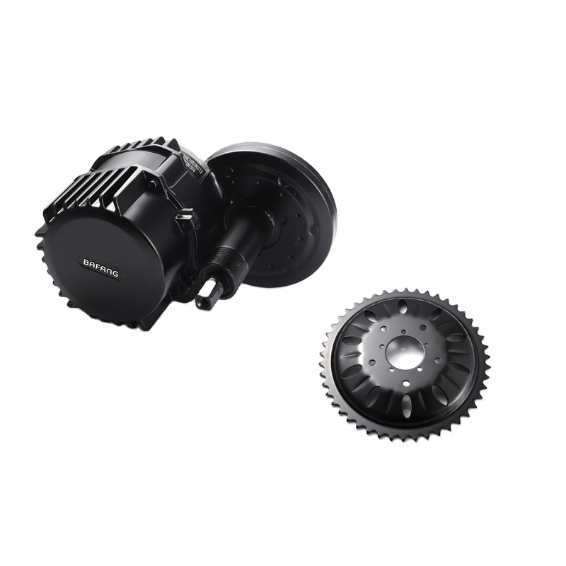 China Brushless Noiseless Mid Drive Motor Electric Bike Accessory Central Mounted Motor 36V350W Kits Ebike Mid Drive Motor