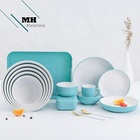 Bamboo Fiber High Quality Melamine Tableware Lunch Box Bamboo Fiber Lunch Box