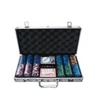 Chips Poker Set Casino Chip Set YH Clay Classic Casino Chips 5 Colors Texas Poker Chips Set