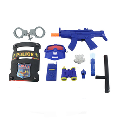High quality simulation role lay police equipment set toys boys
