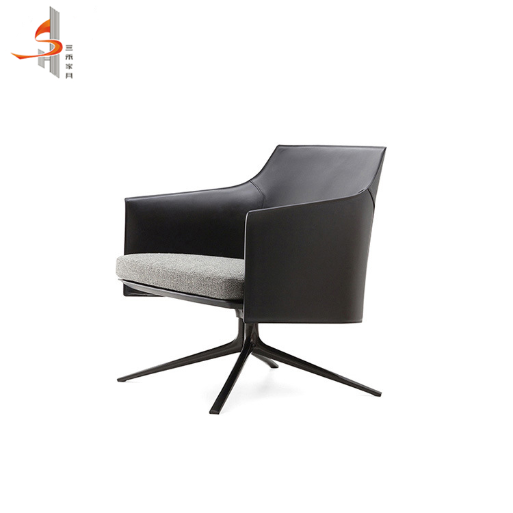 Wholesale hot selling modern leather chair with arm in meeting room