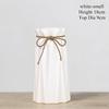 WHITE-Artistic vase Small