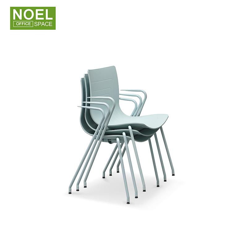Заводская цена, современный дизайн, прочный складной стул для учебы с блокнотом для письма