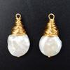 teardrop baroque pearl 15x28mm